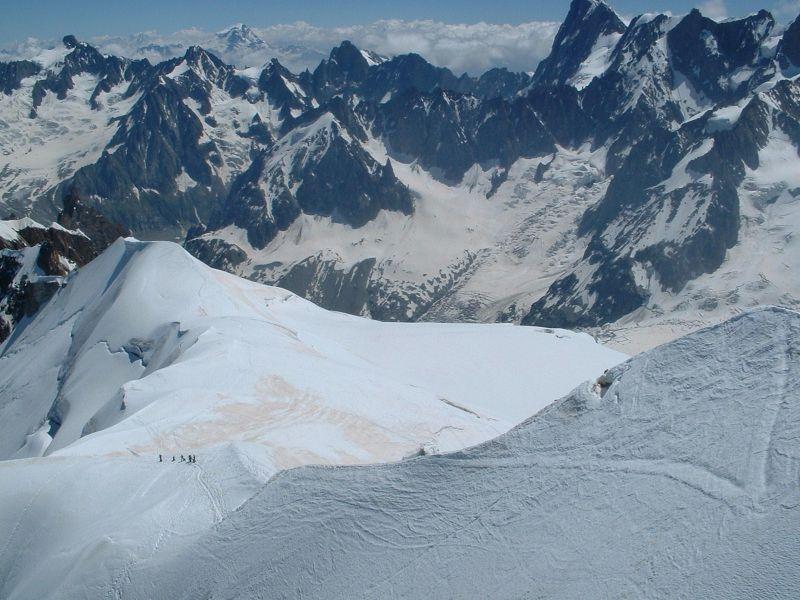 Aiguille du Midi 'Unnervingly Exposed' Ridge