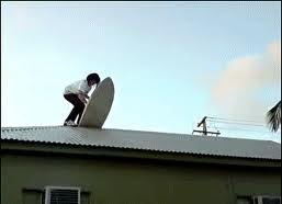 Rooftop surfing