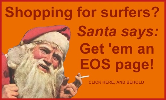 EOS Smoking Santa